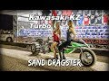 Kawasaki KZ Turbo Sand Dragster from Super Sick Racing and Lance Root
