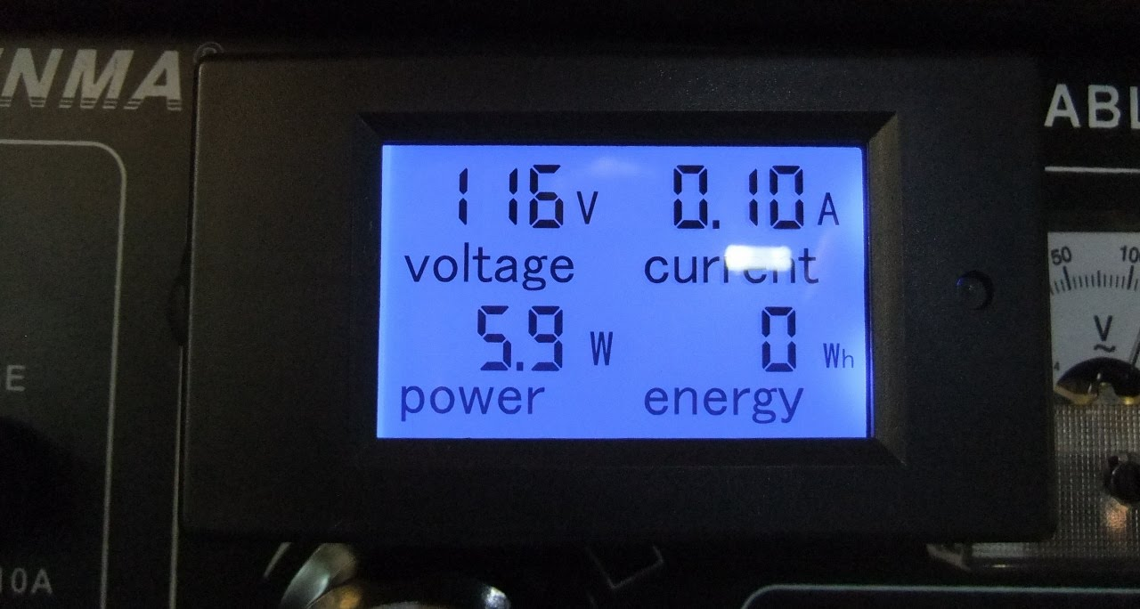 ac power panel meter