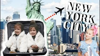 TWINS FIRST TIME TO NEW YORK CITY!