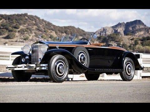 1933 rolls royce phantom ii henley roadster - youtube