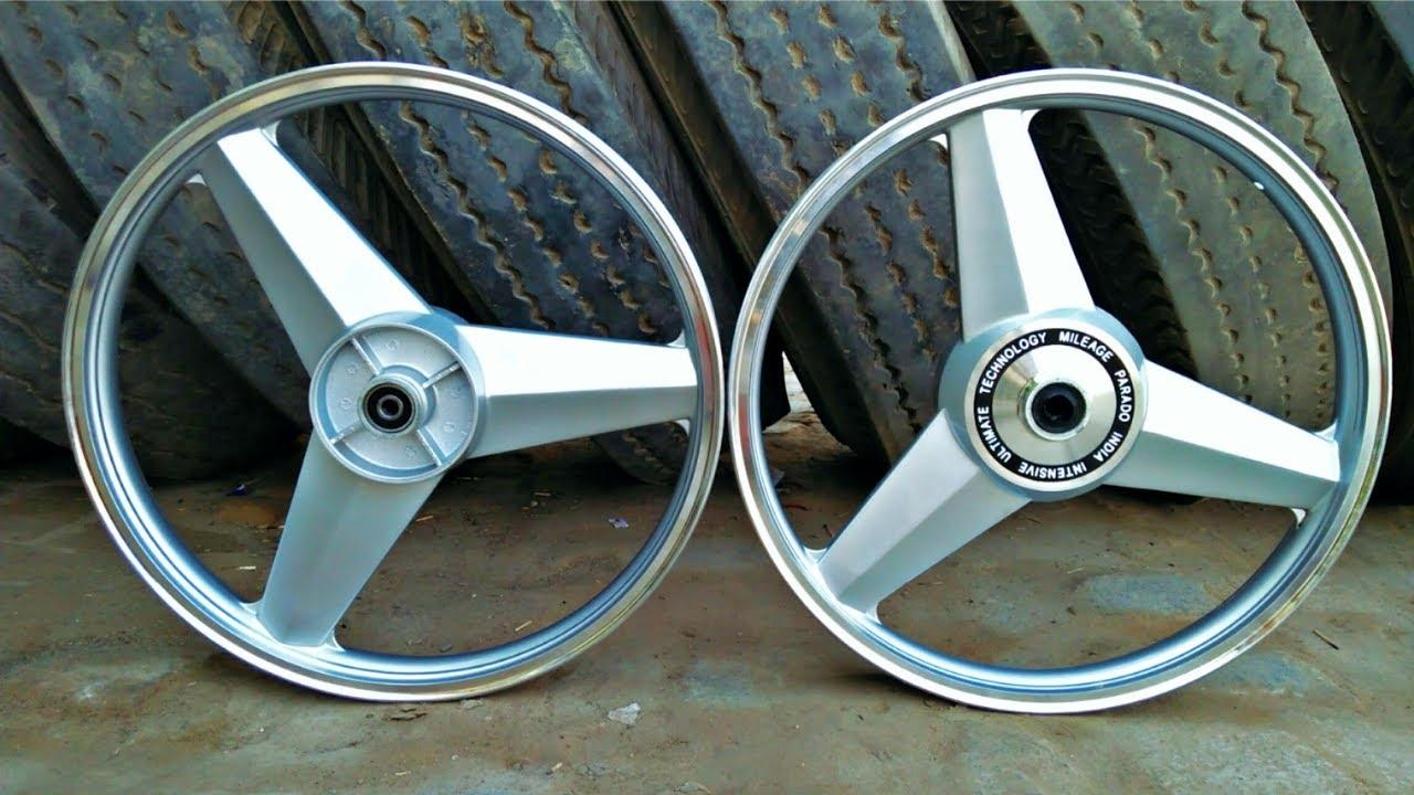 Splendor Alloy Wheel Modified Price, Mercedes Alloy Wheels For Splendor Intallations Video Best Alloy For You Bike, Splendor Alloy Wheel Modified Price