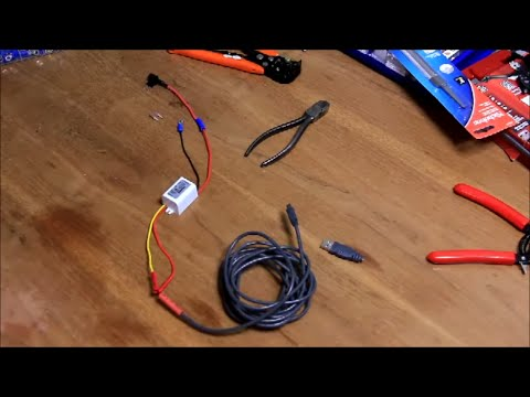 hqdefault dash cam install hardwired into interior fuse panel youtube how to wire dashcam to fuse box at readyjetset.co