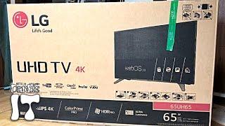 LG전자 65UH6550 65인치 4K UHD TV 구입 리뷰과 대형TV 구입시 고려사항