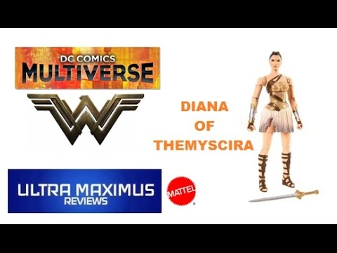 Diana of Themyscira DC Comics Multiverse Wonder Woman (2017)