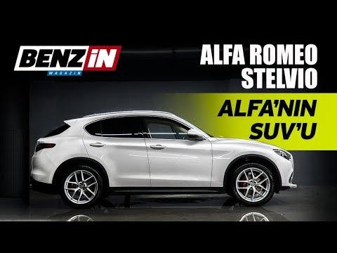 Alfa Romeo Stelvio test sürüşü 2018