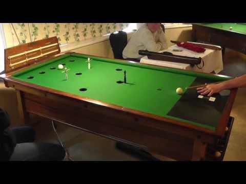 Guernsey Bar Billiards Pairs Open Plate Round 1 - Game 1