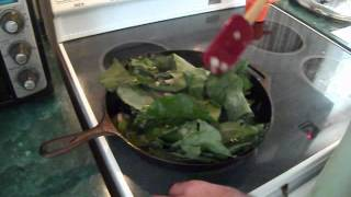 Learning How To Cook Broccoli Leaves