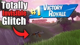 How to Become Fully Invisible in Fortnite *NEW* Fortnite Glitches Season 6 PS4/Xbox one 2018