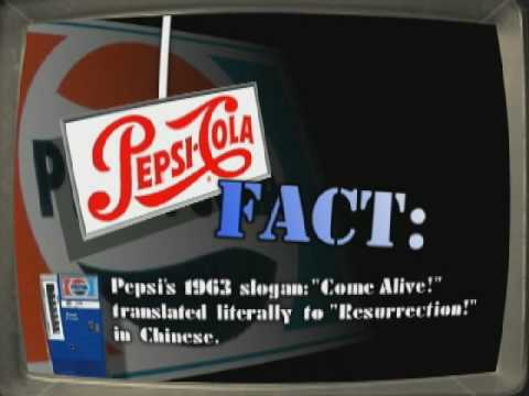 RETRO CLASSIC TV COMMERCIAL 1960s Come Alive Youre In The Pepsi Generation