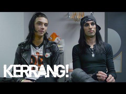 Kerrang! Warped Tour UK 2015: Black Veil Brides - Andy ...