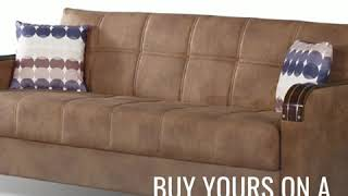 Nevada-Living-Room-Sets-Brown-with-Sofa-&-Loveseat