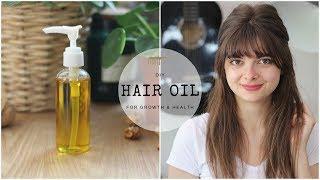 DIY Hair Oil | Stimulate Hair Growth & Health