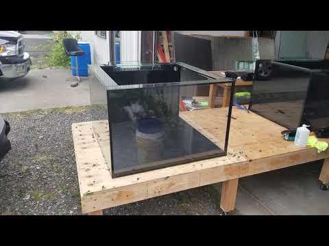 Custom Cube Tank By Crystal Reef Aquatics
