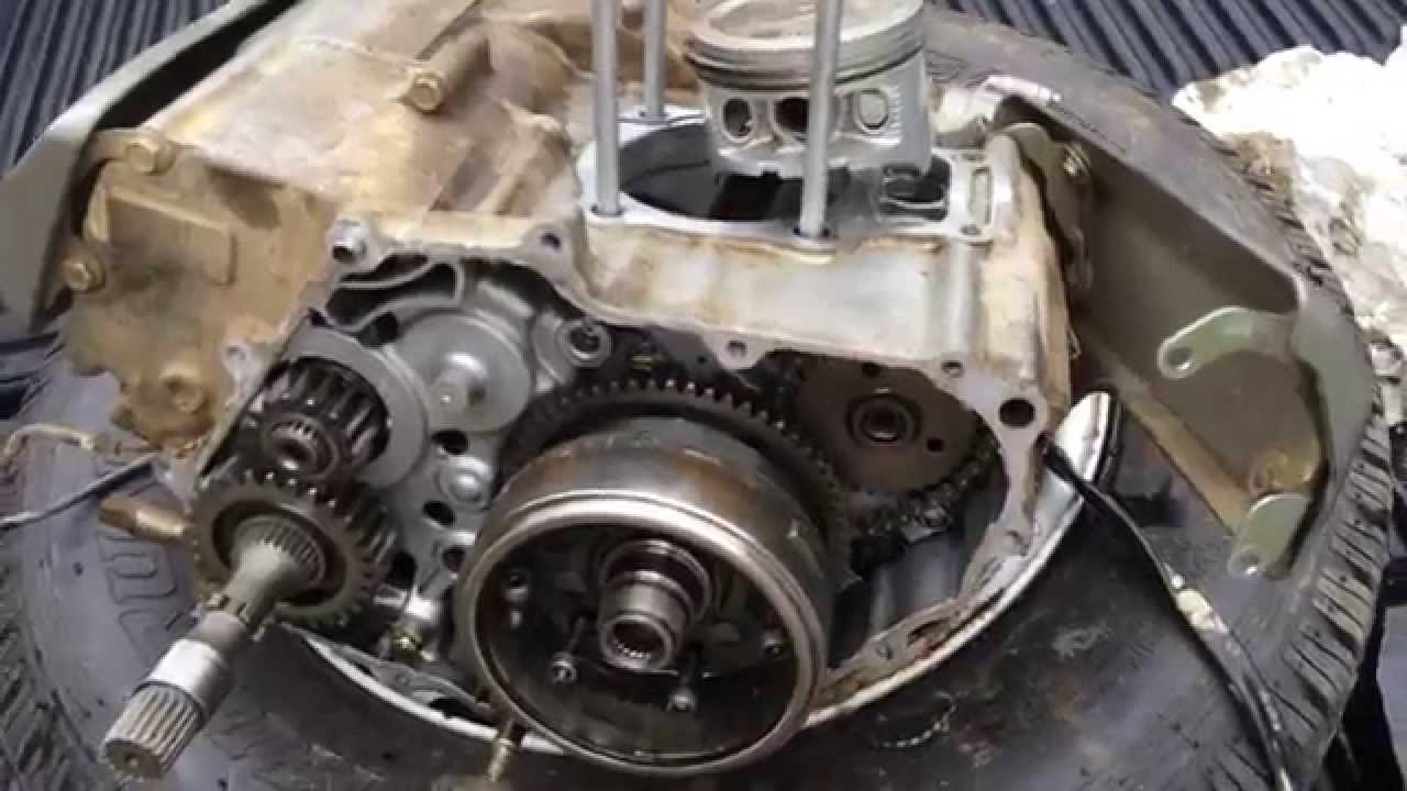2006 honda rancher 350     timing chain tensioner broke  2