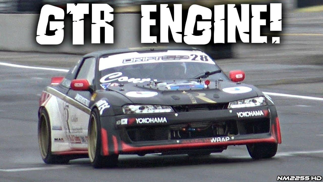R35 GTR Powered Nissan 200SX 6-Speed Sequential MONSTER!