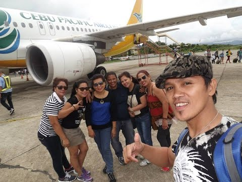 First Time Flying On Airplane 2015 @ Manila to Bohol
