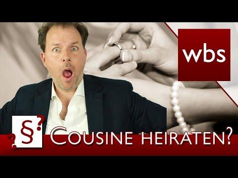 Darf ich meine Cousine heiraten? | Rechtsanwalt Christian Solmecke