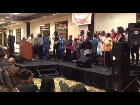 Youth & Young Adult Choir in Fresno - YouTube