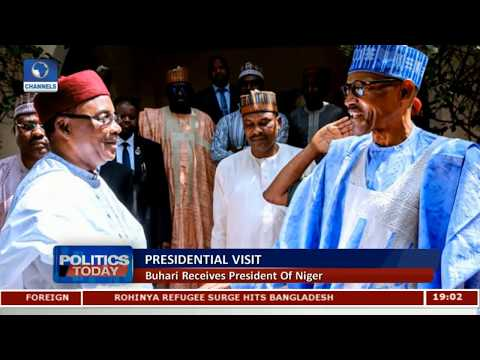 President Buhari Receives President Of Niger |Politics Today|