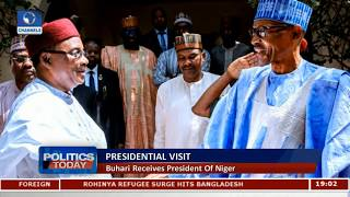 President Buhari Receives President Of Niger |Politics Today|