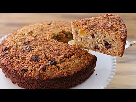 Easy and Healthy Oatmeal Cake Recipe