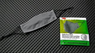 3M Daily Face Mask Reusable a review