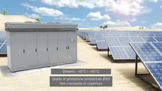 Inverter fotovoltaico ABB; ULTRA- 700.0/1050.0/1400.0-TL-OUTD