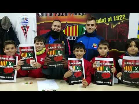 L'ALBUM DE CROMOS DEL CF PALLEJÀ 2017-18