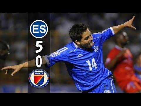 El Salvador [5] vs Haiti [0] FULL GAME : WCQ2010 : 9.6.2008