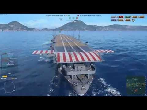 [LazyCat TV : Test] 20160618 World Of Warships [# 01 흥미진진한 'OMAHA'와 'KONGO' 플레이] (With : MiliCat)
