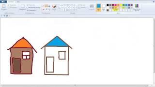 видео Инструменты графического редактора Paint