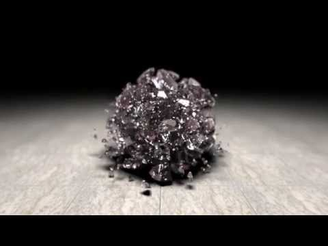 Realistic Glass Ball Shatter - YouTube