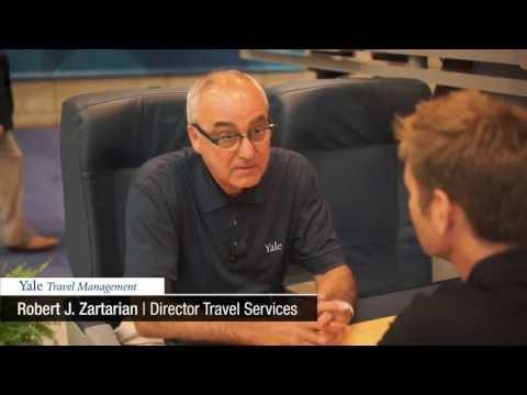 Corporate Travel Manager Interview: Yale (Robert J. Zartarian)