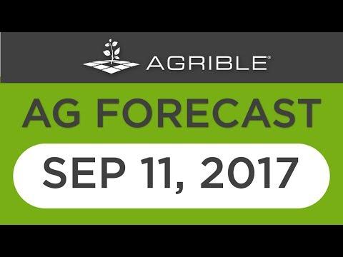Morning Farm Report Ag Forecast - Sept 11, 2017