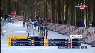 Лыжные гонки. Полторанин дает отпор норвежцу