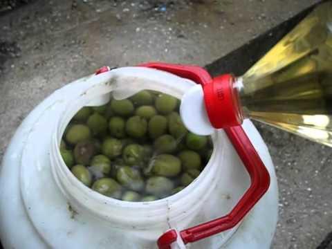 Como conservar aceitunas una vez abiertas
