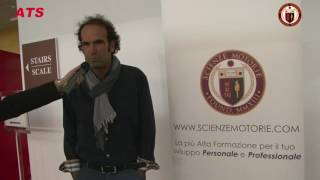 Testimonianza - Armando Caligaris Summit Scienze Motorie Milano 2016
