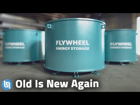The Mechanical Battery Explained - A Flywheel Comeback?