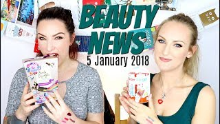 BEAUTY NEWS - 5 January 2018 | New & Updates