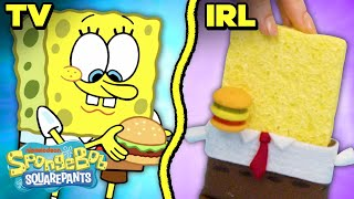 How to Use a Krabby Patty IRL! 🍔 SpongeBob