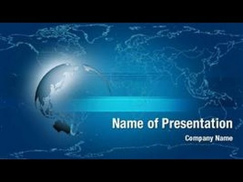 World globe powerpoint video template backgrounds digitalofficepro world globe powerpoint video template backgrounds digitalofficepro 01017v youtube toneelgroepblik Choice Image