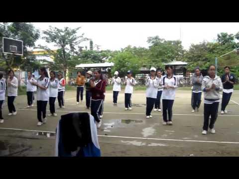 Bài Thể dục Liên hoàn lớp 11