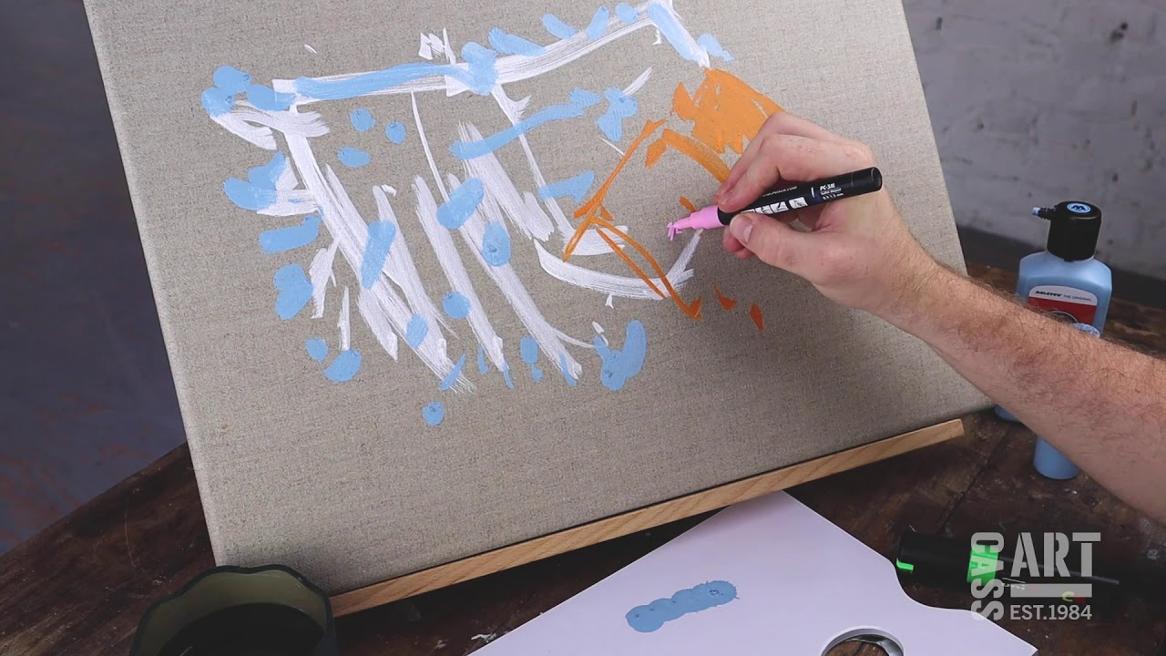 How to with Cass Art: Acrylic Markers