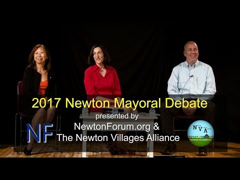 Newton Mayoral Debate 2017