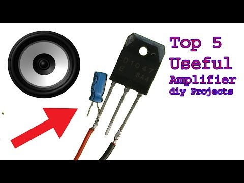 Top 5 useful super easy audio amplifier diy projects