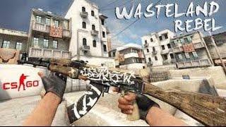 AK-47 Wasteland Rebel HD Para CS 1.6   Com Sons Do CS:GO!   [2016]