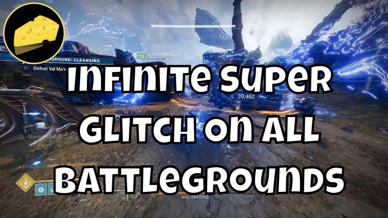 Infinite Super Battleground Glitch - All Battlegrounds