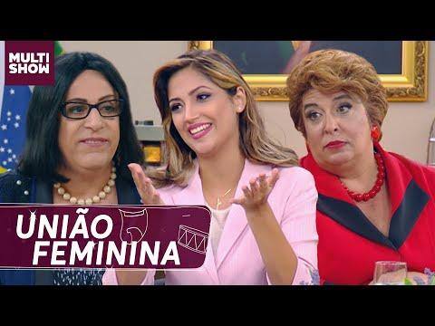 Michelle, Dilmoca, Tamares e senadoras em uma REUNIÃO FEMININA 😆   Multi Tom   Humor Multishow