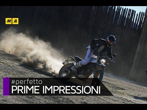 Ducati Scrambler Desert Sled 2017 TEST [ENGLISH SUB]