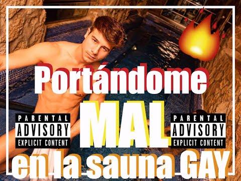PORTANDOME MAL EN LA SAUNA GAY // ALLEN KING